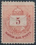 * 1874 5kr II. Típusú 12 1/2 : 13 Fogazással - Stamps