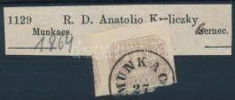 1864 Hírlapbélyeg Címszalagon ,,MUNKAC(S)' - Stamps