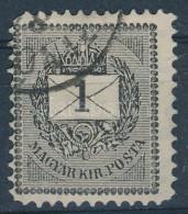 O 1889 1kr 27e 11 1/2 Fogazás (35.000) - Stamps