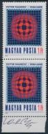 ** 1979 Victor Vasarely Vega-sakk C. Képét ábrázoló Bélyegpár A... - Stamps