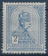 * 1908 Turul 2K Látványosan Eltolódott értékszámmal (45.000+++) - Stamps