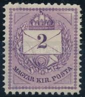 * 1881 Színesszámú 2kr Gyönyörűen Centrált 11 1/2 : 13 Vegyes... - Stamps