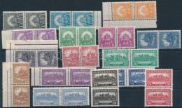 ** 1926 PengÅ'-fillér I. A Sor Párokban (50.000) (ráncok, Apró Hibák / Creases) - Stamps