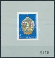 ** 1968 Bélyegnap (41.) Vágott AJÁNDÉK Blokk (60.000) (pici Gumihiba / Small Gum... - Stamps