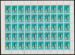 O 1983 Téli Olimpia 1Ft Hajtott Teljes 50-es ív (100.000) - Stamps