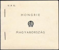 ** 1949 UPU Bélyegfüzet Szép állapotban, Speciális Füzet I. (100.000) - Stamps