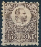 * 1871 Réznyomat 15kr (110.000) - Stamps