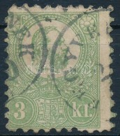 O 1871 KÅ'nyomat 3kr Képbe Fogazott Jó MinÅ'ségű Bélyeg (120.000) - Stamps