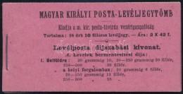 ** 1909 Turul 10f Teljes, Kifogástalan Bélyegfüzet RR! - Stamps