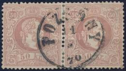 O 1867 50kr Pár 'POZSONY' Szép Bélyegzéssel, Jobb Oldali Bélyegen Kis... - Stamps