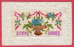 Carte Brodée - Bonne Année - Borduurwerk