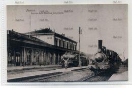 Italy Faenza Interno Del Stazione Ferroviaria Postcard Editore Angelo Albonetti Emilia Romagna C.1910 - Faenza