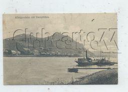 Königswinter (Allemagne, Rhénanie-Nord-Westphalie): Blick General Mit Dampfähre  Env 1910 PF. - Koenigswinter