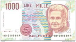 ITALY P. 114b 1000 L 1994 UNC - [ 2] 1946-… : Repubblica