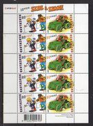 2000 Sjors En Sjimmie Block MNH Printing R2321111 (369) - Blocks & Sheetlets