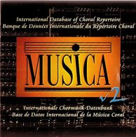 Musica V2 (2002) - Banque De Données Internationale Du Répertoire Choral - Música & Instrumentos