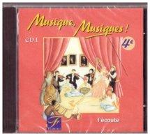 Musique Musiques Quatrième Compact Disque I Ref. 5169 - L'écoute - Música & Instrumentos