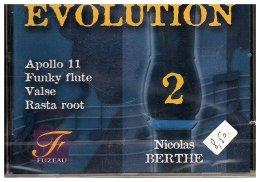 Evolution 2 - 4 Pièces Pour Flûte à Bec Avec 2 Versions D'accompagnement - Musik & Instrumente