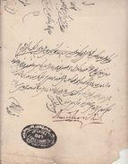 India Jaipur State  QV  Period  State Council Order Document In Urdu Language  # 96920  Inde  Indien Revenue Fiscaux - Decrees & Laws