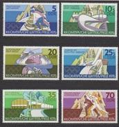 DDR / Olympische Winterspiele 1976, Innsbruck / MiNr. 2099-2104 - Unused Stamps