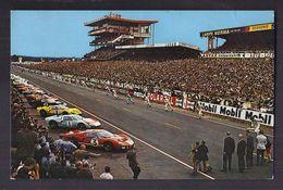 CPSM 72 - LE MANS - Circuit Des 24 Heures Du Mans - Le Départ - SUPERBE GROS PLAN VOITURES Spectateurs Pilotes TAMPON - Le Mans