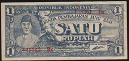 1945 P-17 INDONESIA SATU RUPIAH NOTE IN A CRISP EF GRADE. - Indonesia
