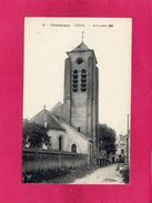 77 SEINE ET MARNE, CHAMPIGNY, L'Eglise, Animée, (B. F.) - France