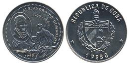 "Cuba 1 Peso 1989 ""Alexander Von Humboldt"" UNC - Kuba"