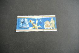 K12374- Stamp  MNH Hungary 1978 -   SC. C409- Mail On Board Salyut 6- Praga- Int. Philatelic Exhibition - Space