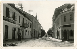 Gospić Old Photopostcard (Ivo Kolačević, Gospić) Travelled To Medolino (Medulin) 1939 Bb170701 - Croazia