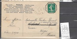 Lot   Ambulant Charleville à Longuyon  - Indice 9 - Marcophilie (Lettres)