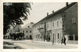 Gospić Hotel Lika Old Photopostcard (Griesbach & Knauch) Travelled To Zagreb 1940 Bb170701 - Croazia