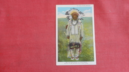 Survivor Of Wounded Knee Indian Battle   Iron Hail /Dewey Beard  Ref 2631 - Native Americans