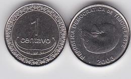 Timor - 1 Centavo 2003 UNC Lemberg-Zp - Timor