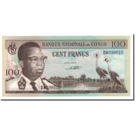 Congo Democratic Republic, 100 Francs, 1961-1964, KM:6a, 1962-02-01, SPL+ - Republic Of Congo (Congo-Brazzaville)