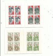 2 Carnets CROIX ROUGE 1977 / 78....Y & T N° 2026 Et 2027 .........à Voir. - Carnets