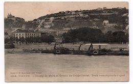 VIENNE (38) - CHAMP DE MARS ET COTEAU DE COUPE-JARRET - TROIS REMORQUEURS A QUAI - Vienne