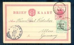 Orange Free State 1902. Bloemfontein To Ulm, Germany. - Sud Africa (...-1961)