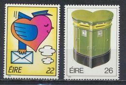 °°° IRLANDA EIRE - Y&T N°587/88 - 1986 MNH °°° - Nuovi
