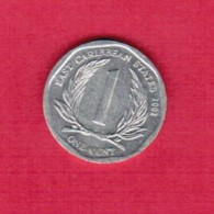 EAST CARIBBEAN STATES   1 CENT 2002 (KM # 34) - East Caribbean States