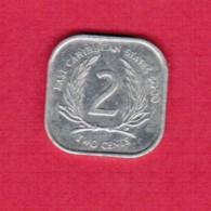 EAST CARIBBEAN STATES   2 CENTS 2000 (KM # 11) - East Caribbean States