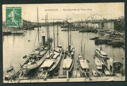 MARSEILLE -  VUE GENERALE DU VIEUX PORT - Vieux Port, Saint Victor, Le Panier
