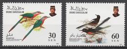 Brunei 1993 Mi# 465-66** BIRDS - Brunei (1984-...)