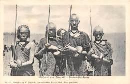 BURUNDI / Watussi Aus Urundi -  Beau Cliché Animé - Burundi