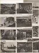 M. S. MONTE ROSA: Vintage 12 View Cards - Altre Collezioni