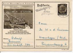 Bk19/ Deutsches Reich Ganzsache Bildpostkarte P 236/ 41-181-1-B2 Gelaufen/ Used - Ganzsachen