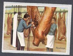 Abattage -  Abattoirs  - - Cromos