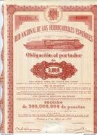 ACCION   De  RENFE     1951   - 103 - Chemin De Fer & Tramway