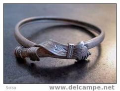 Bracelet Italien Ancien En Argent / Vintage Italian Silver Bracelet - Bracelets
