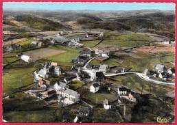CPSM 15 LADINHAC Cantal - Vue Panoramique Aérienne ° Cim Combier - Altri Comuni